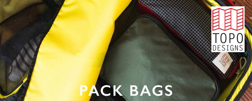 Topo Designs Pack Bags