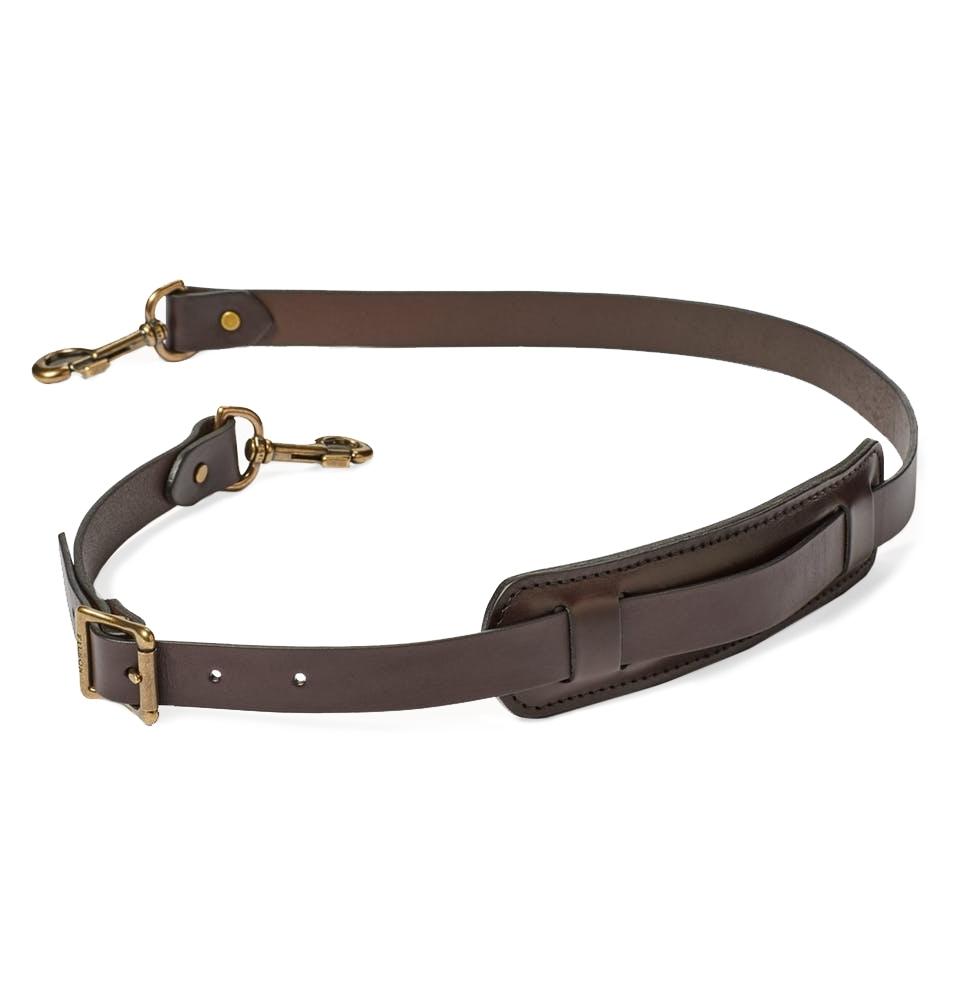 Filson Bridle Leather Shoulder Strap 20049230-Brown