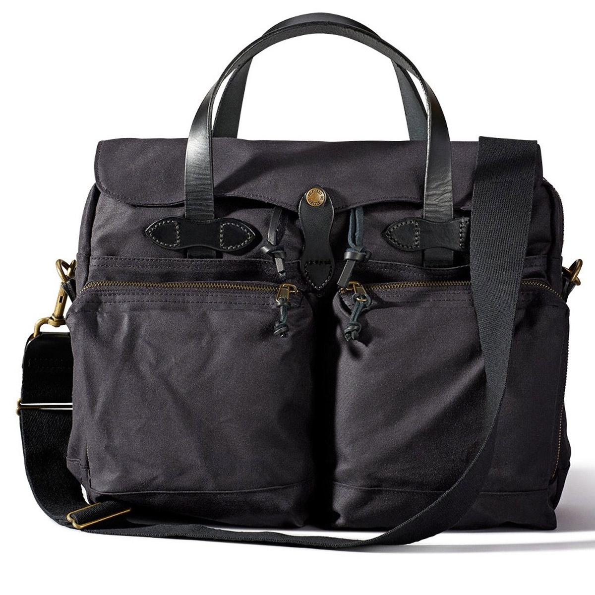 Filson 24-Hour Tin Cloth Briefcase 11070140-Cinder