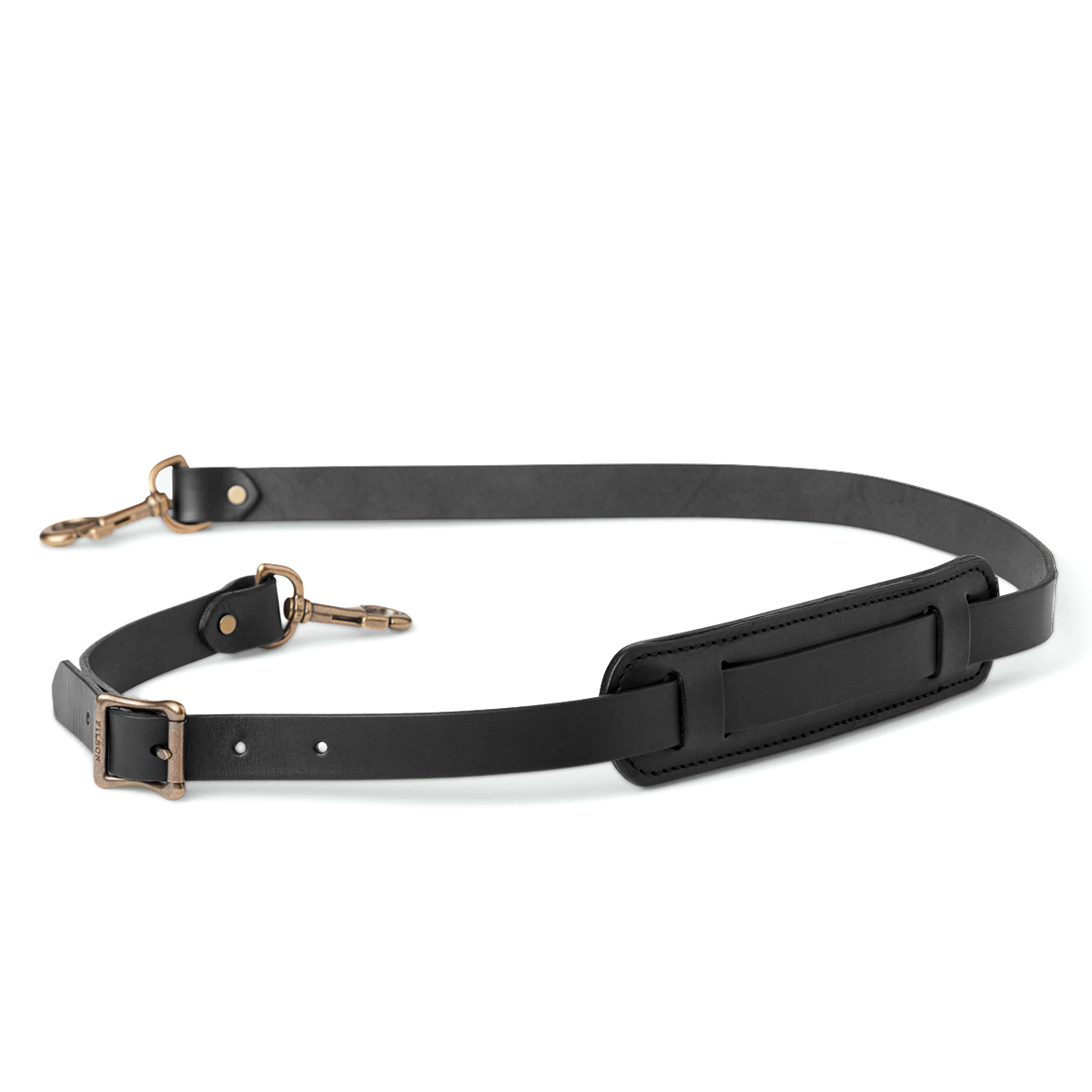 Filson Bridle Leather Shoulder Strap 20049230-Black