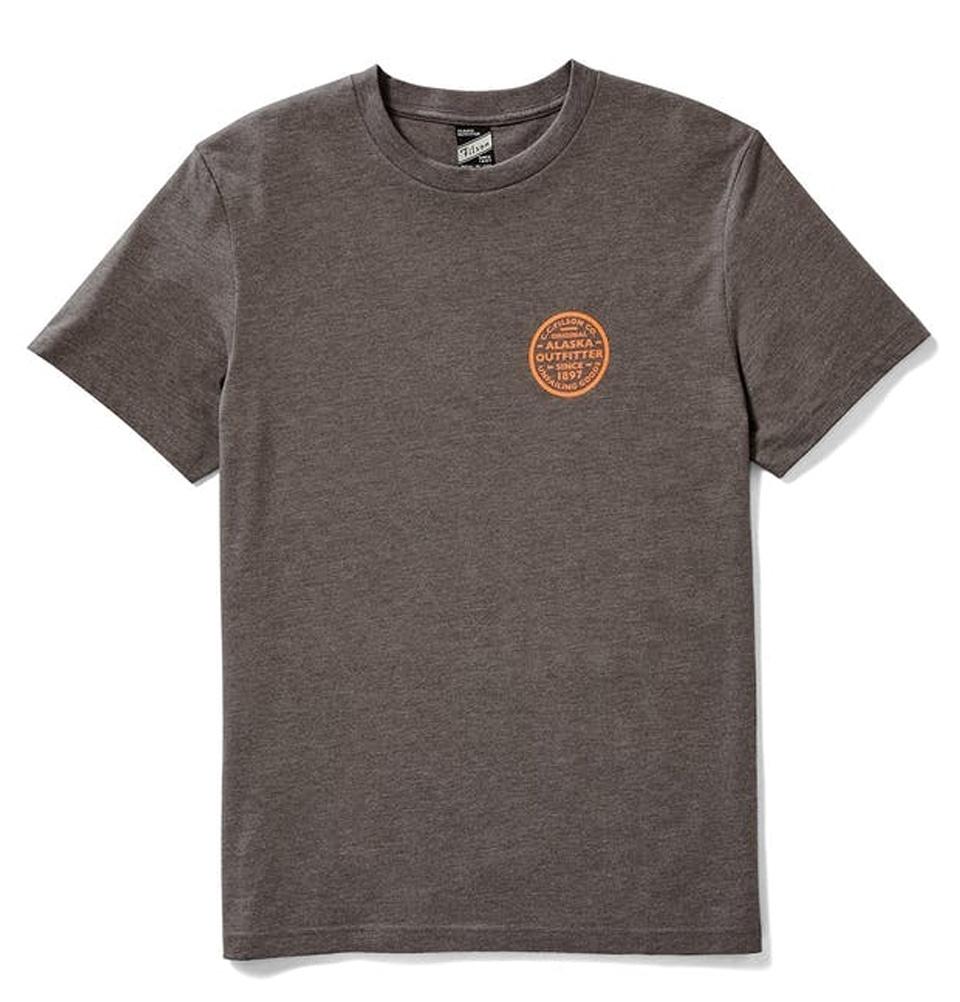 Filson Buckshot T-shirt Olive Brown