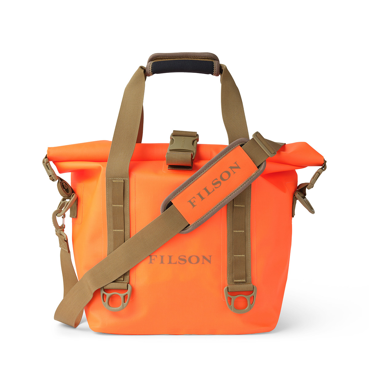 Filson Dry Roll-Top Tote Bag 20175828-Flame