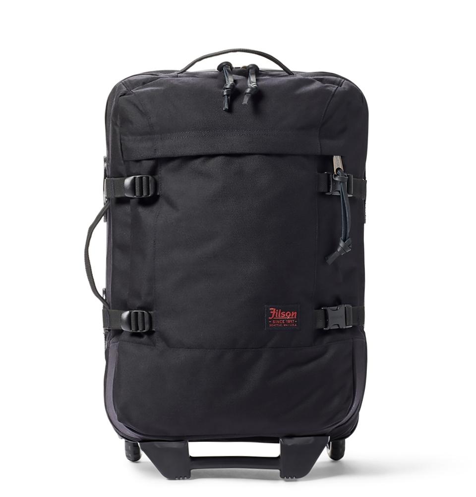 Filson Ballistic Nylon Dryden 2-Wheel Rolling Carry-On Bag 20047728-Dark Navy