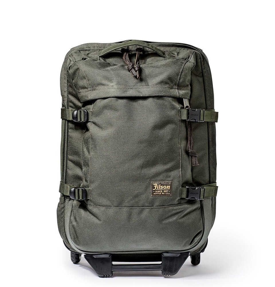 Filson Dryden 2-Wheel Rolling Carry-On Bag 20047728-Otter Green