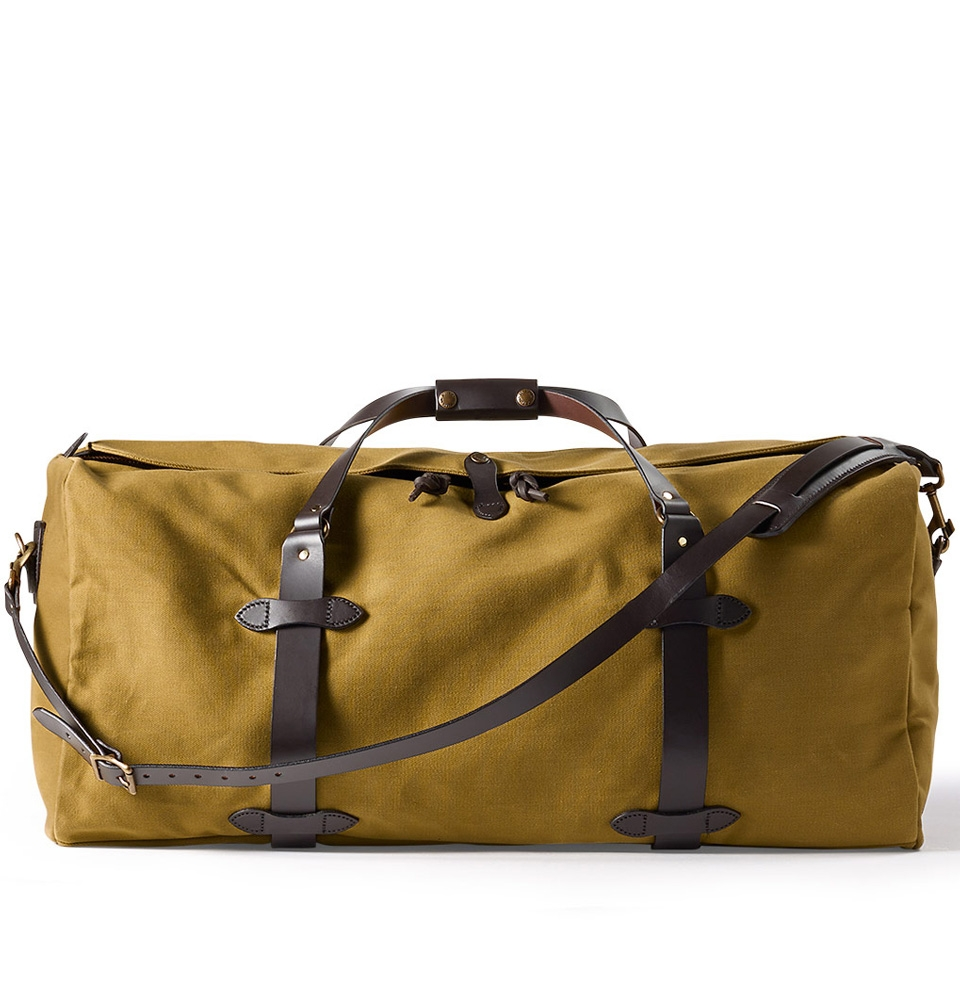 Filson Rugged Twill Duffle Bag Large 11070223-Tan