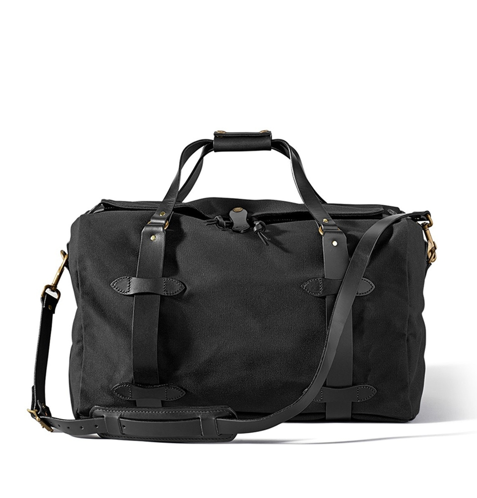 Filson Rugged Twill Duffle Bag Medium 11070325-Black