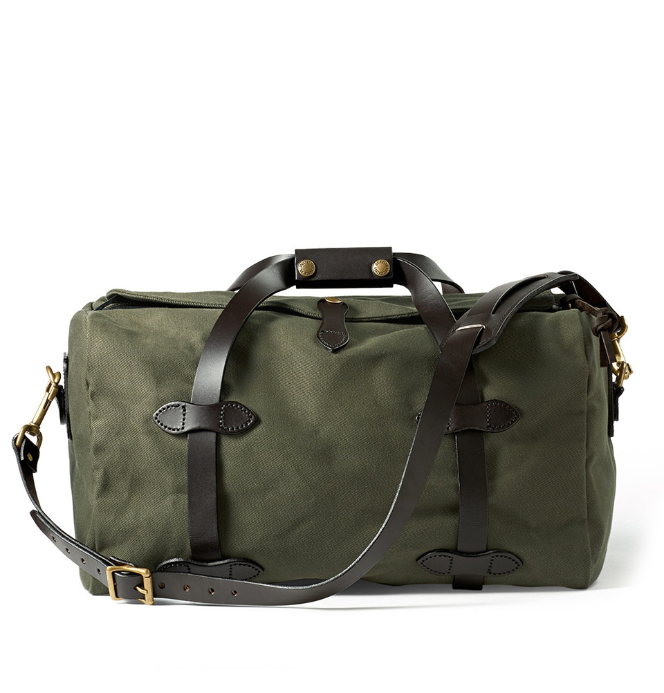 Filson Rugged Twill Duffle Bag Small 11070220-Otter Green