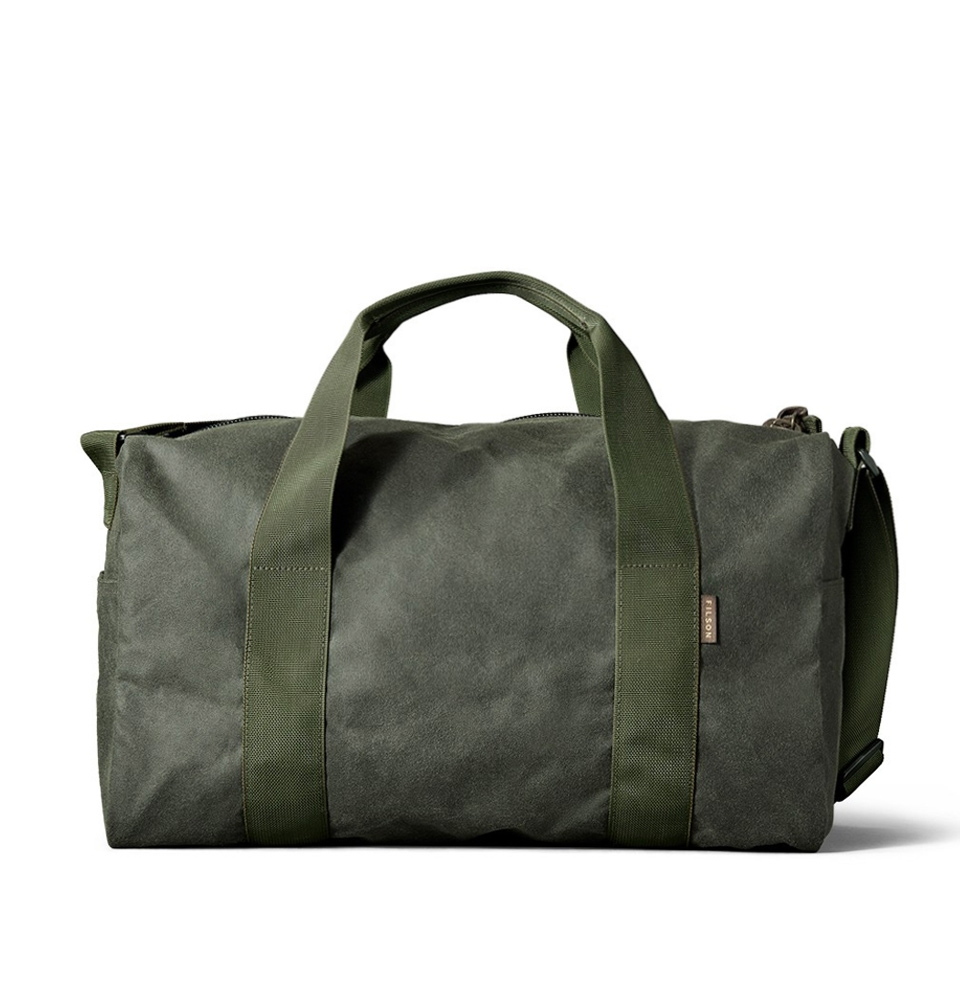 Filson Tin Cloth Field Duffle Bag Small 11070110-Spruce
