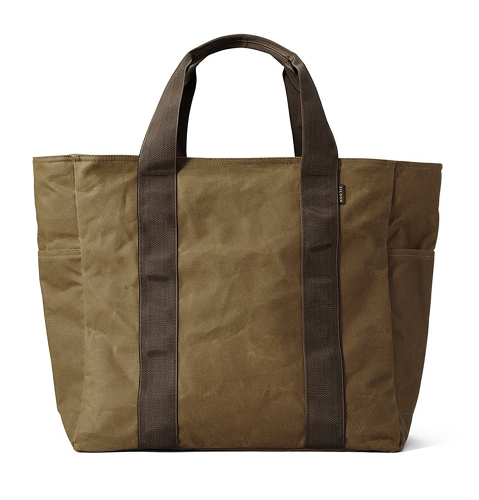 Filson Grab 'N' Go Tote Bag Large 11070391-Dark Tan/Brown