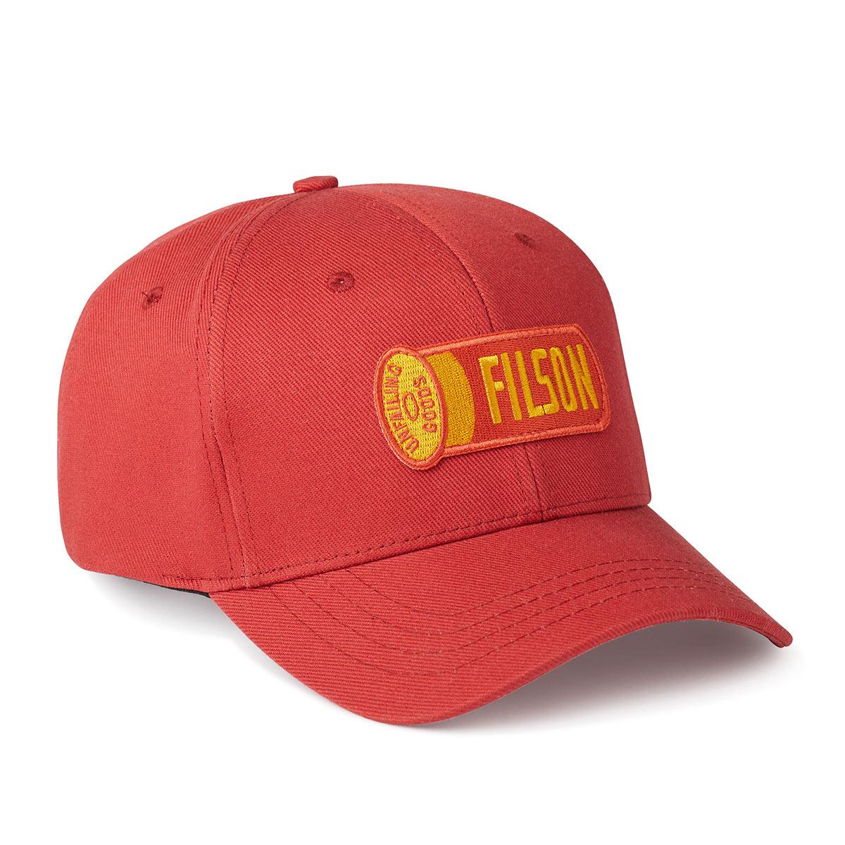 Filson Logger Cap Cardinal Red