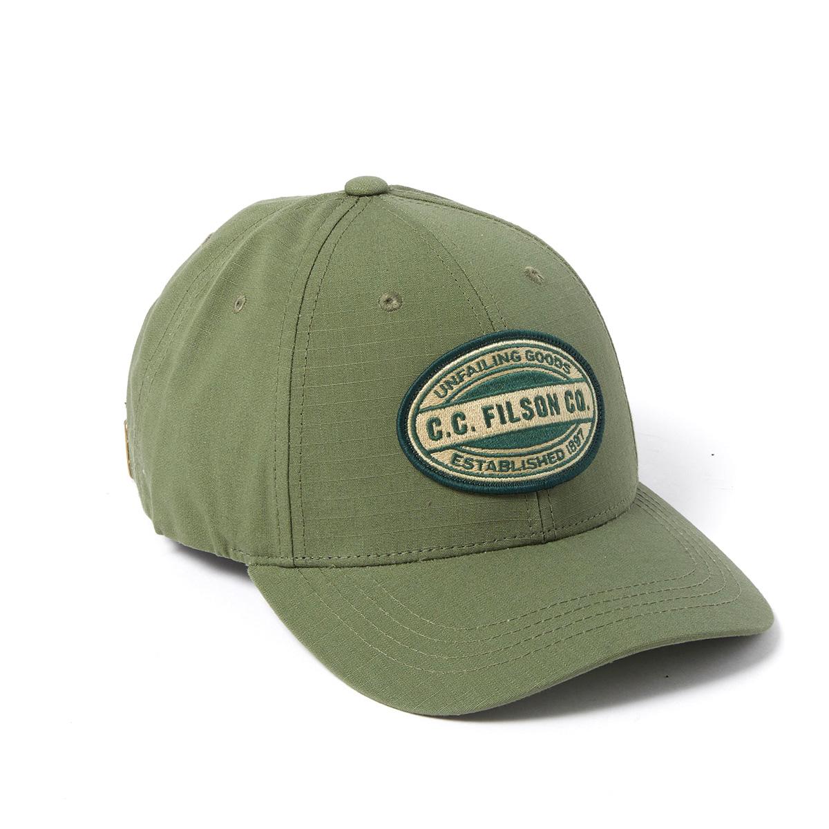 Filson Logger Cap 20204521-Army Green/Kenai