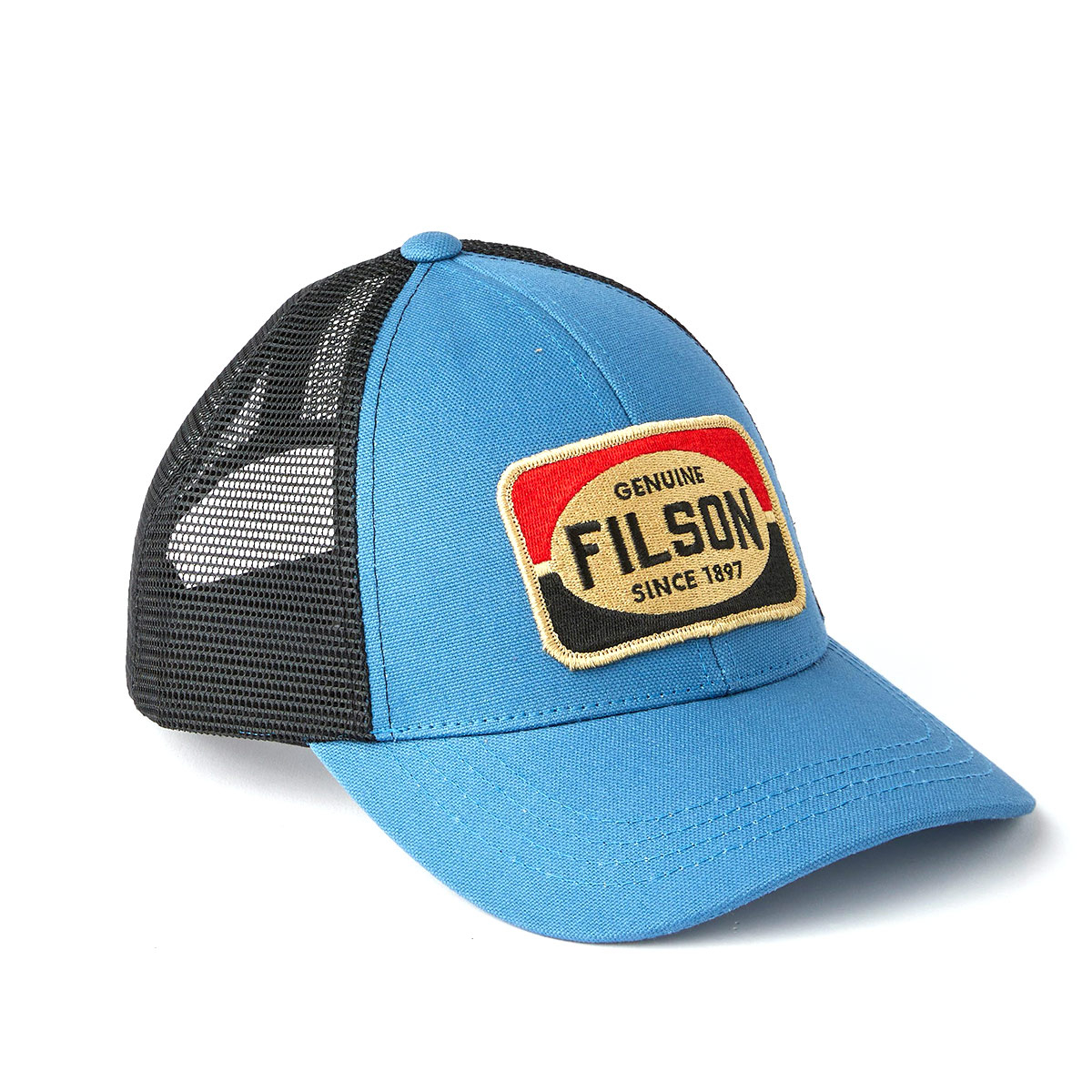 Filson Mesh Snap-Back Logger Cap 20189204-Blue