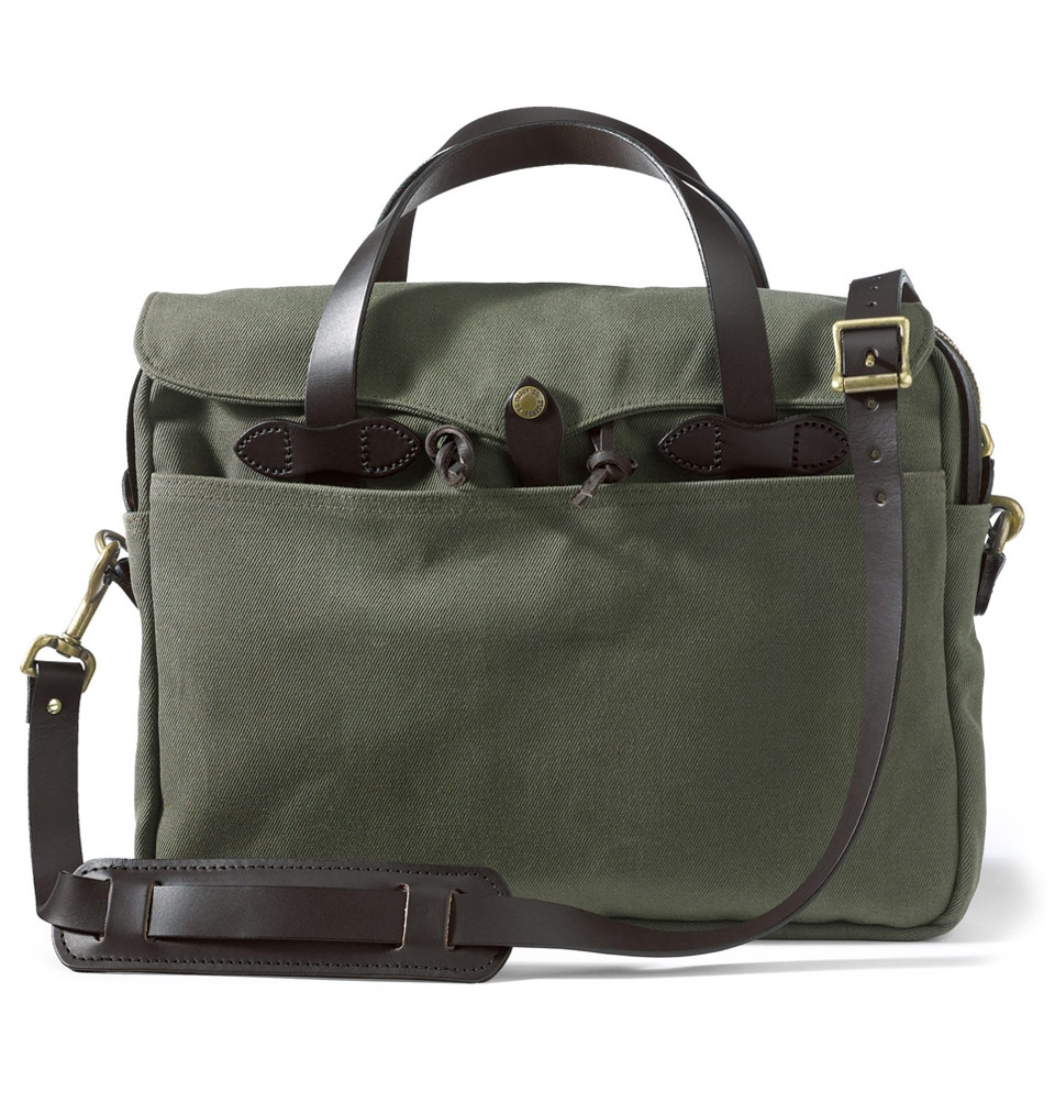 Filson Original Briefcase 11070256-Otter Green