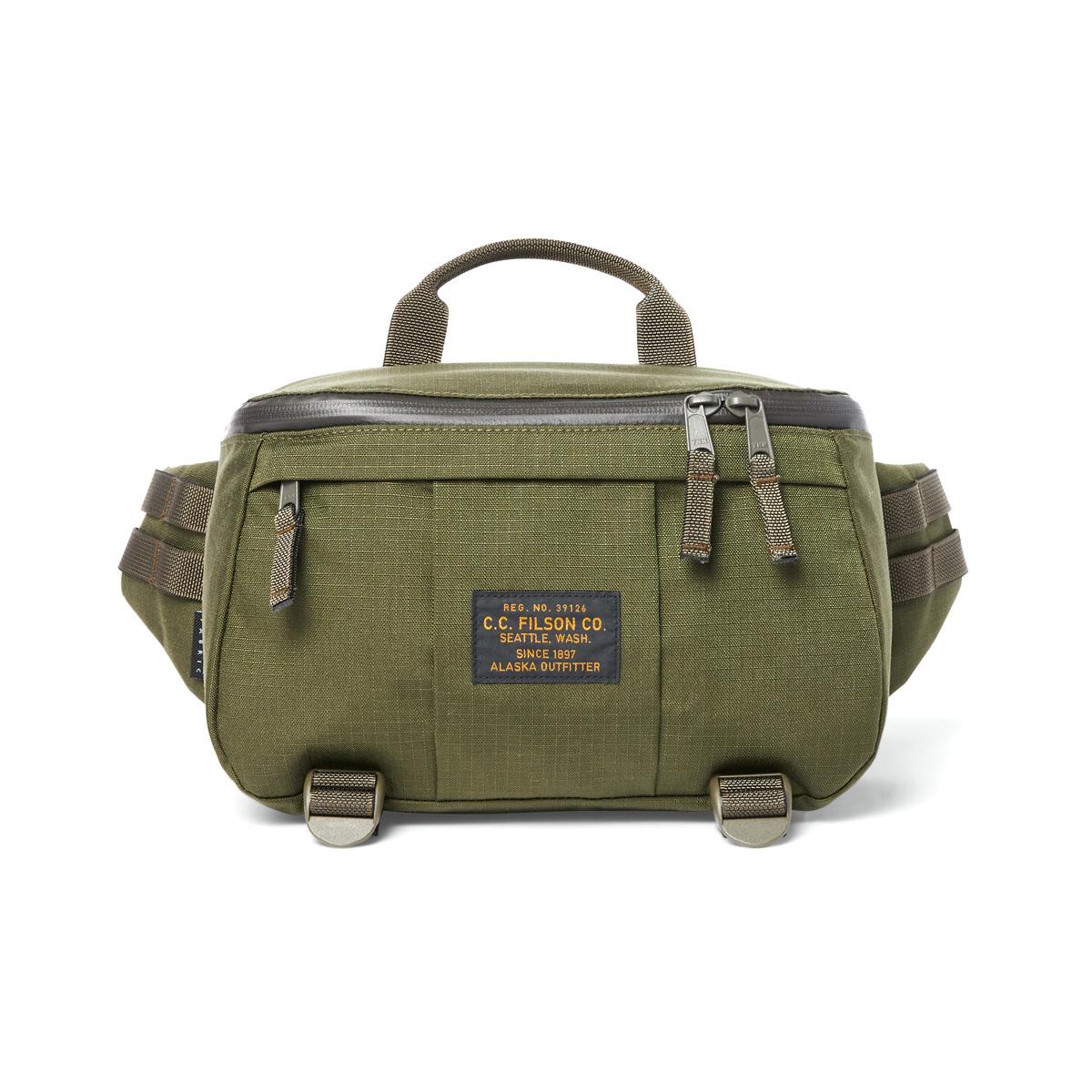 Filson Ripstop Compact Waist Pack 20186281-Surplus Green