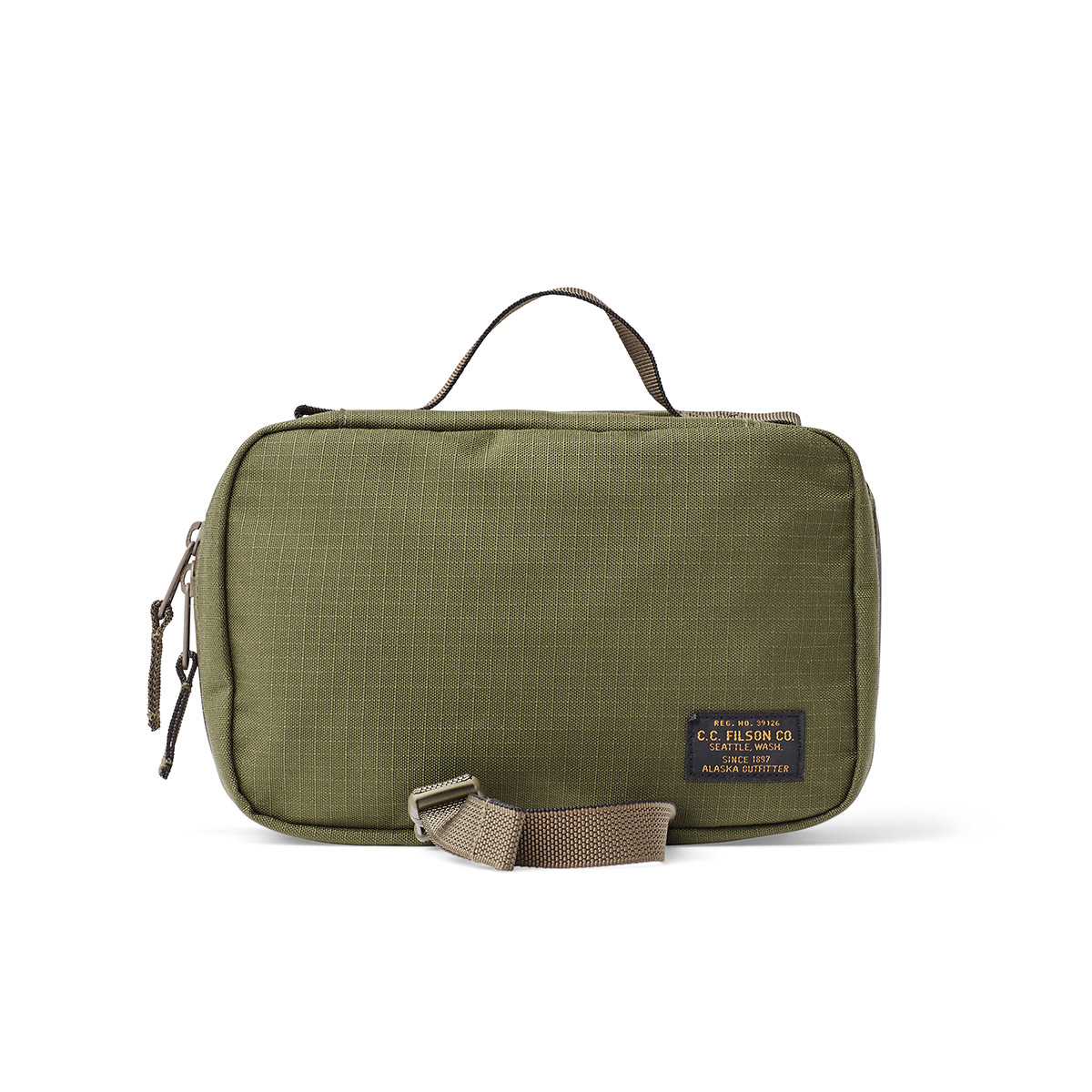 Filson Ripstop Nylon Travel Pack 20115936-Surplus Green