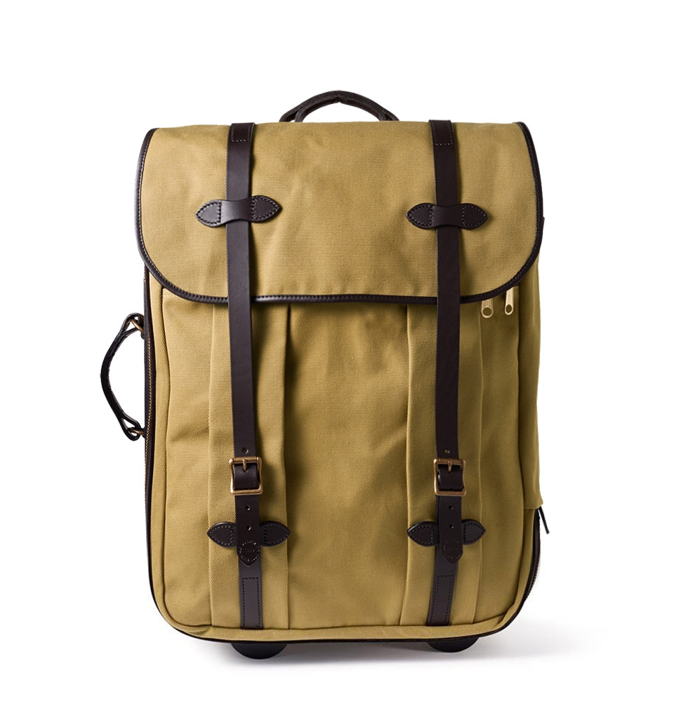 Filson Rugged Twill Rolling Check-In Bag 11070374-Tan