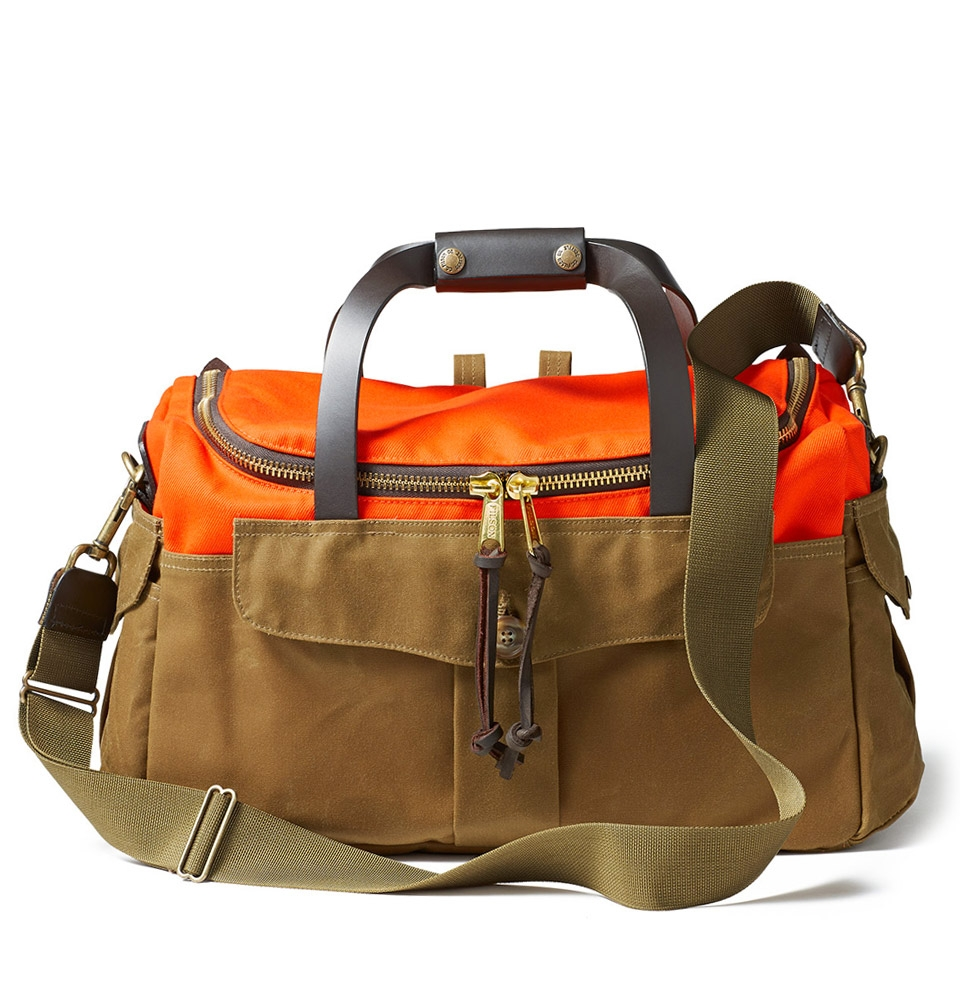 Filson Heritage Sportsman Bag 11070073-Orange/Dark Tan