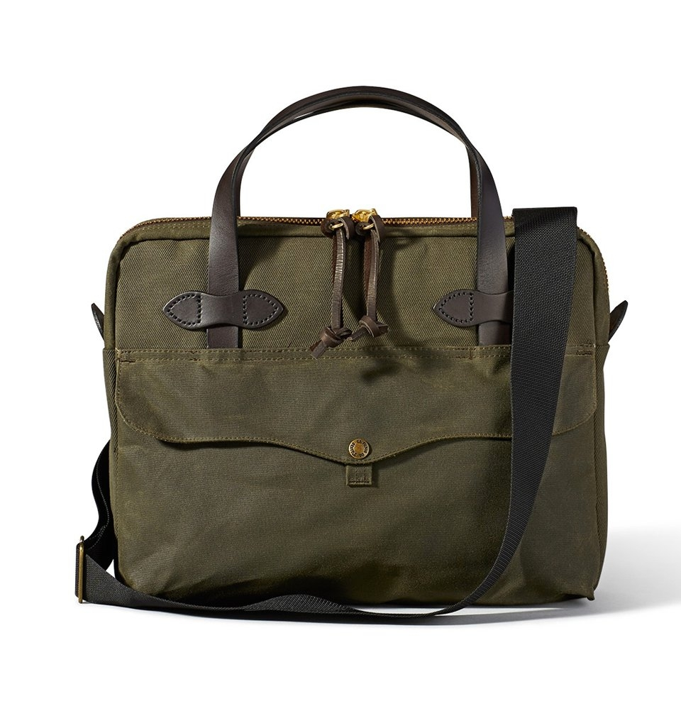 Filson Tablet Briefcase 11070324-Otter Green