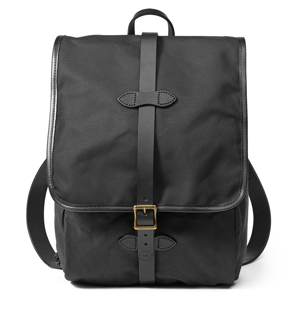 Filson Tin Cloth Backpack 11070017-Black