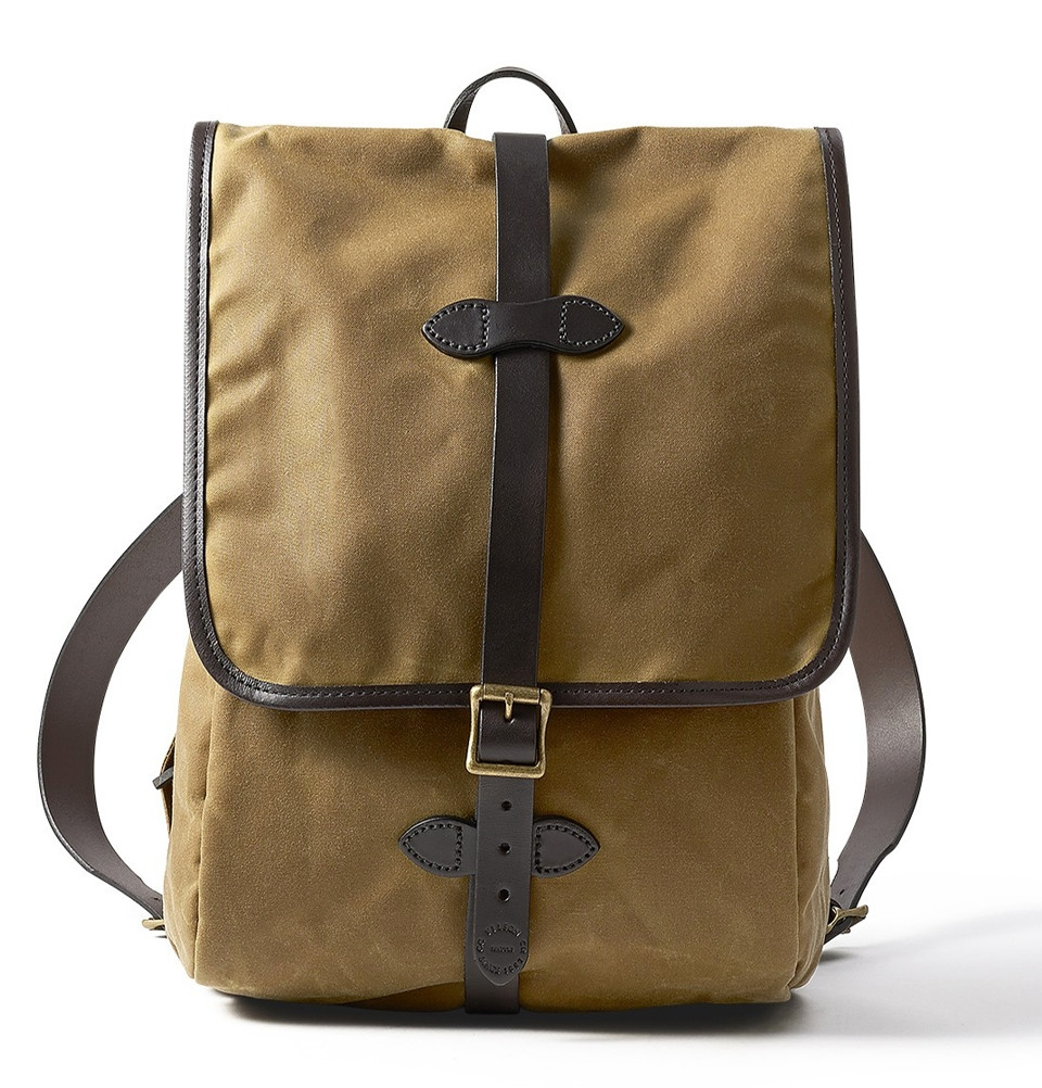 Filson Tin Cloth Backpack 11070017-Dark Tan