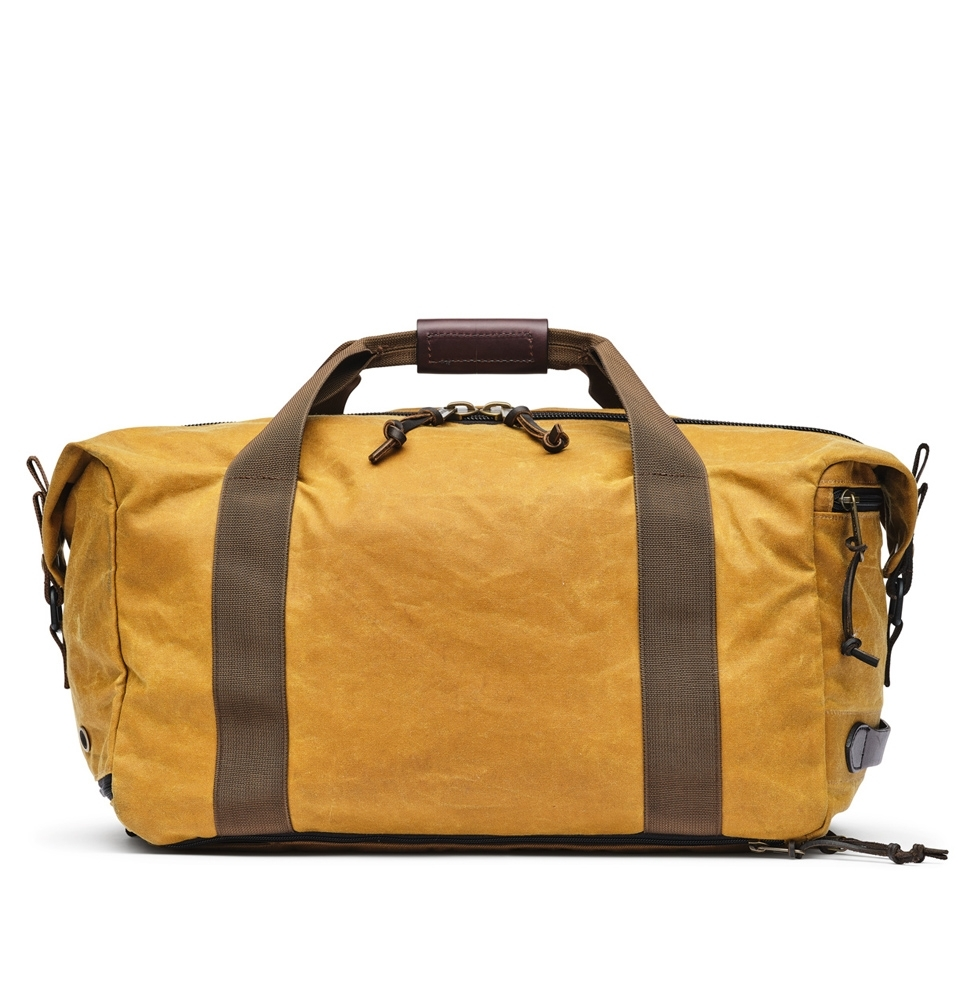 Filson Tin Cloth Duffle Pack 20077085-Dark Tan/Brown