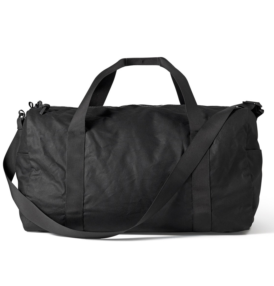Filson Tin Cloth Field Duffle Bag Medium 11070015-Black