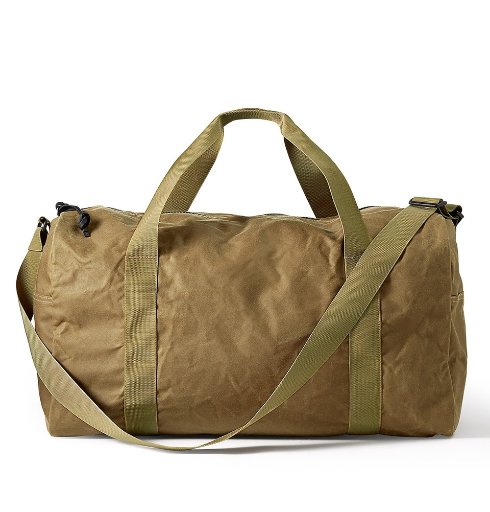 Filson Tin Cloth Field Duffle Bag Medium 11070015-Dark Tan