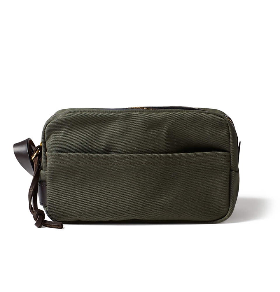 Filson Rugged Twill Travel Kit 11070218-Otter Green