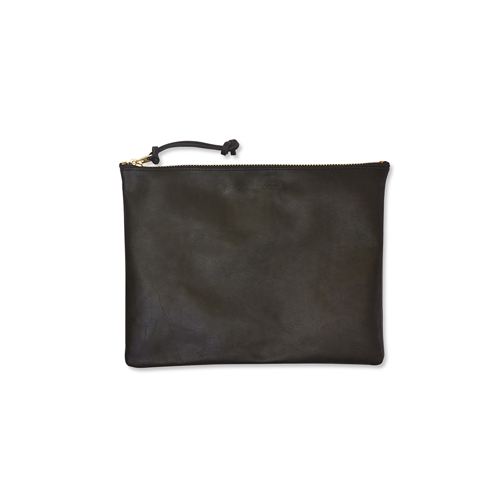 Filson Leather-Pouch-Large 11063221-Moss