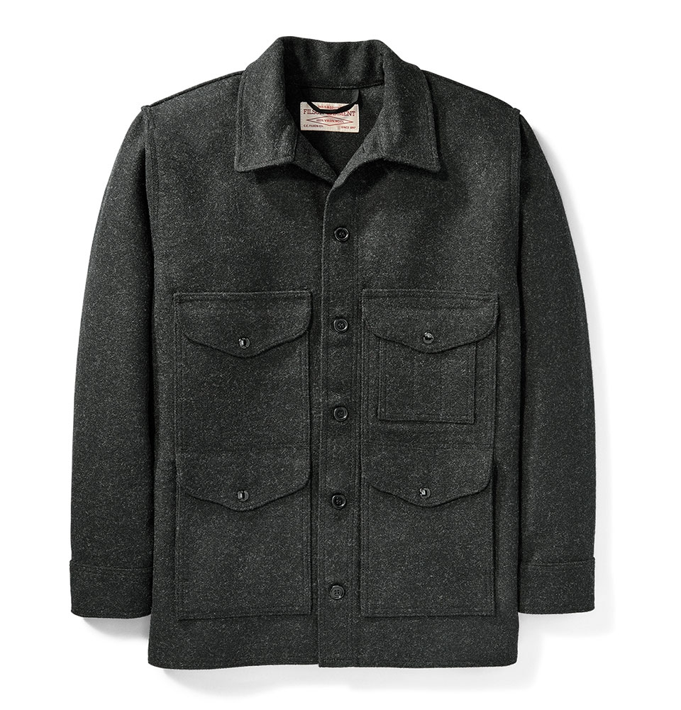 Filson Mackinaw Cruiser Jacket Charcoal