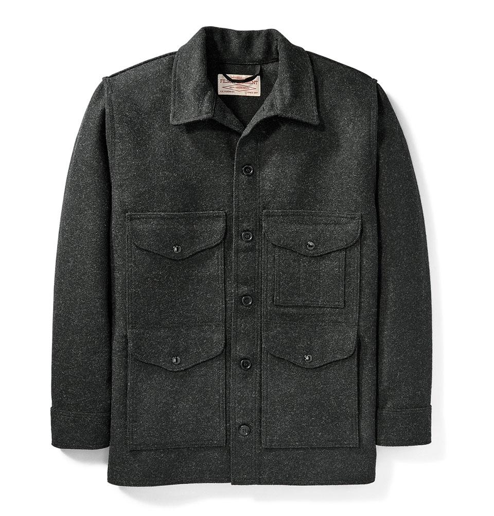 Filson Mackinaw Cruiser Jacket Charcoal