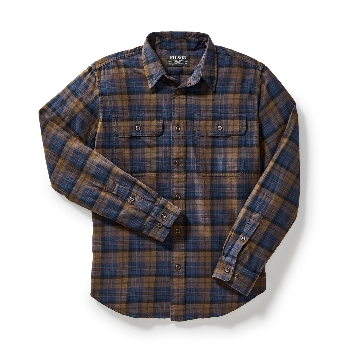 Filson Scout Shirt Brown/Navy/Black