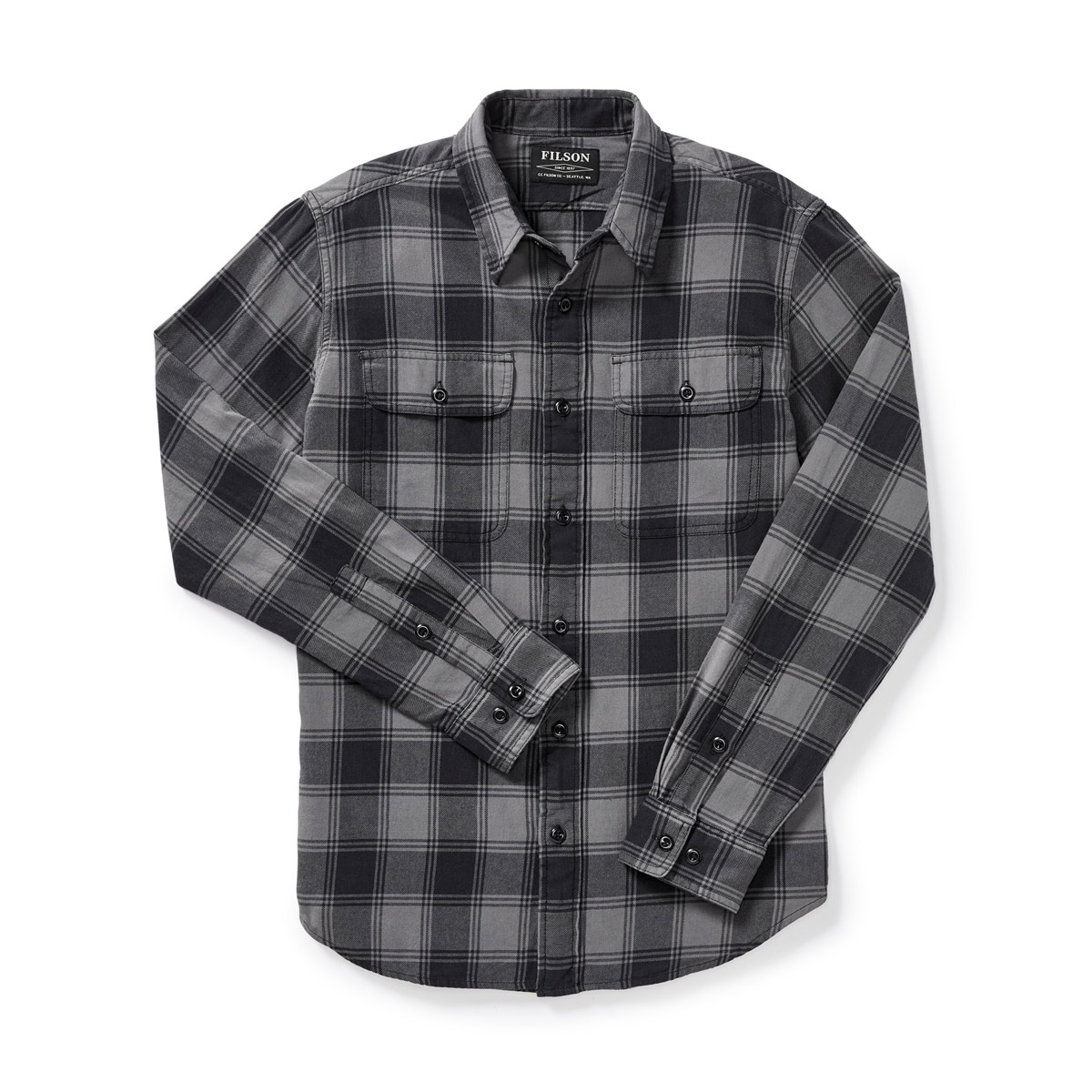 Filson Scout Shirt Gray/Black