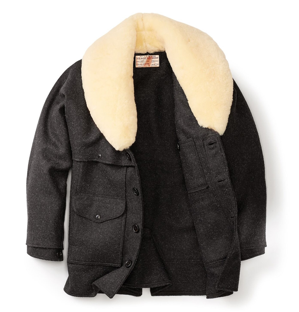 Filson Wool Packer Coat Charcoal