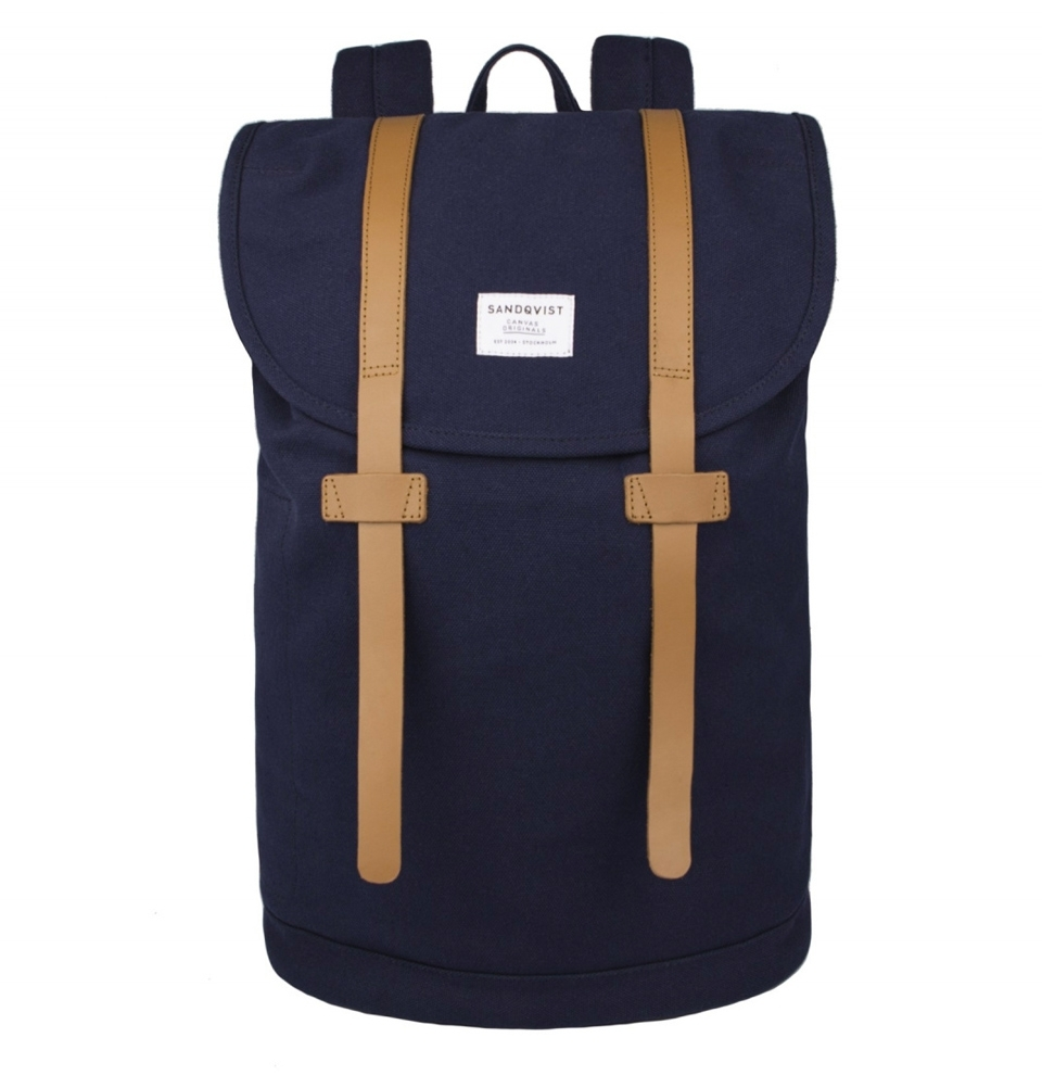 Sandqvist Stig large backpack Blue