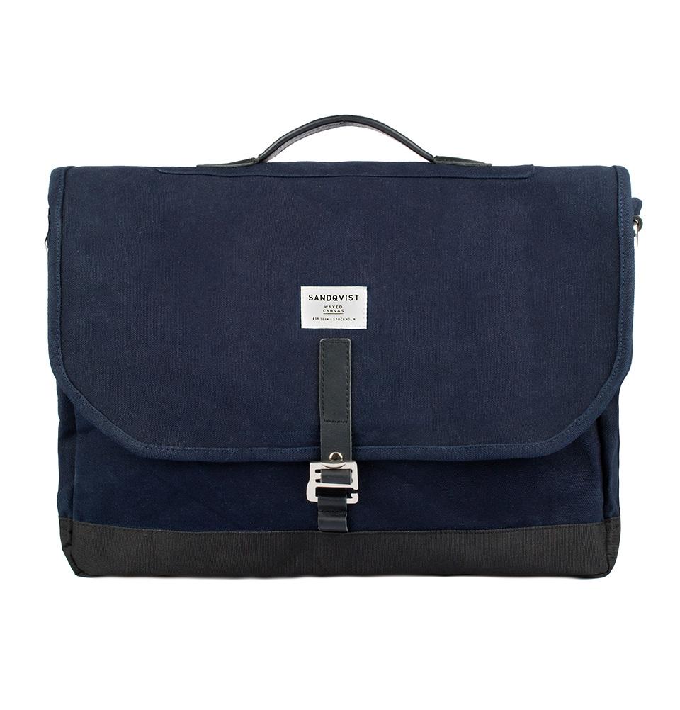 Sandqvist Finn messenger bag Blue