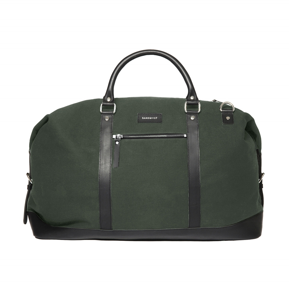 Sandqvist Jordan weekend bag Beluga