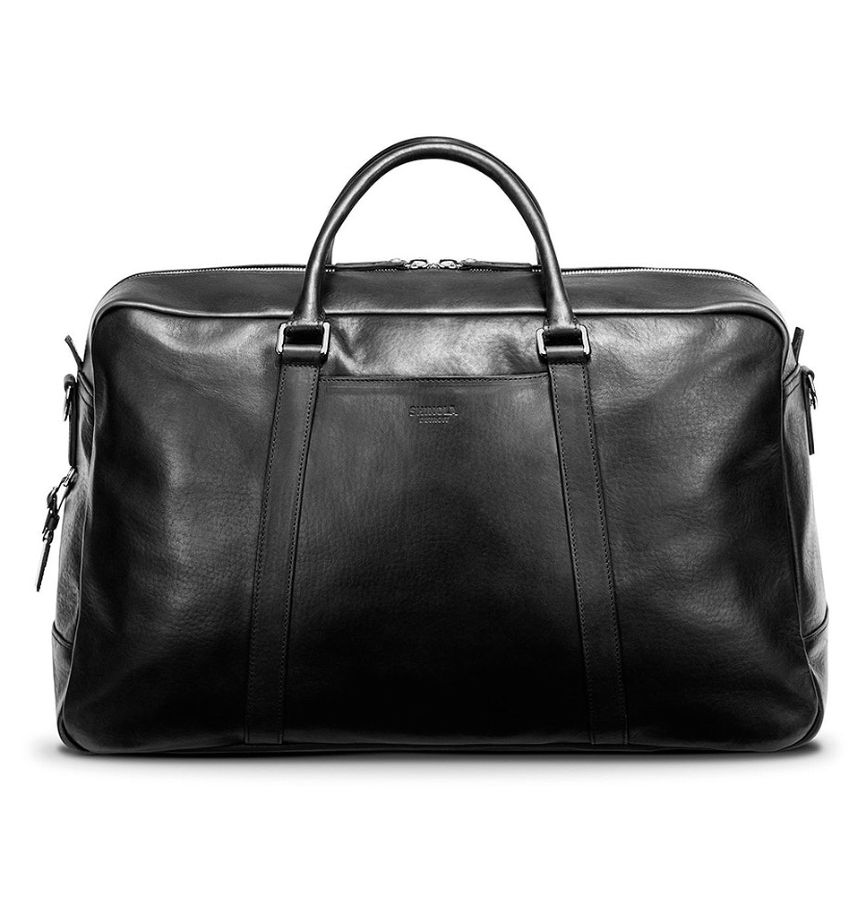 Shinola Signature Duffle Black