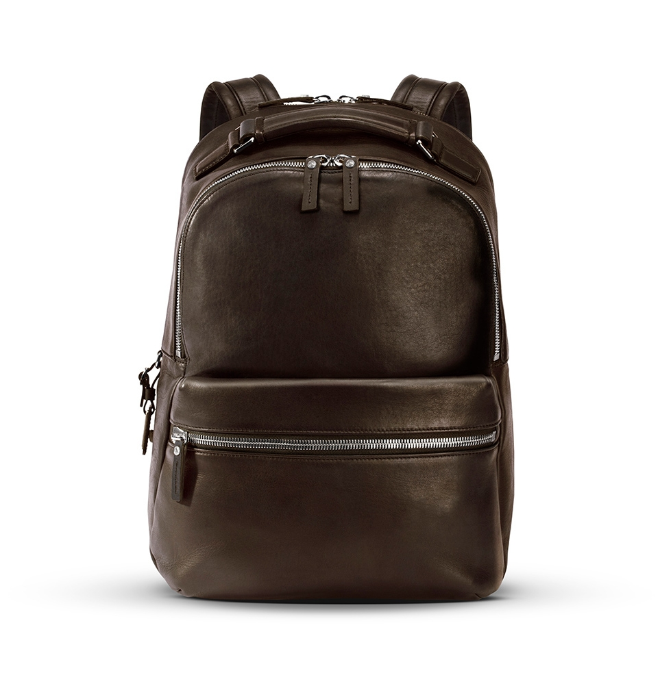 Shinola The Runwell Backpack Deep Brown