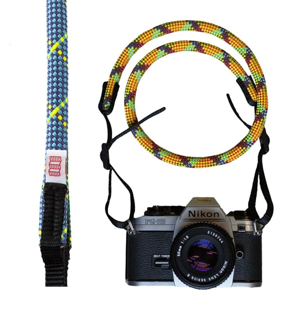 Topo Designs Camera Strap Blue