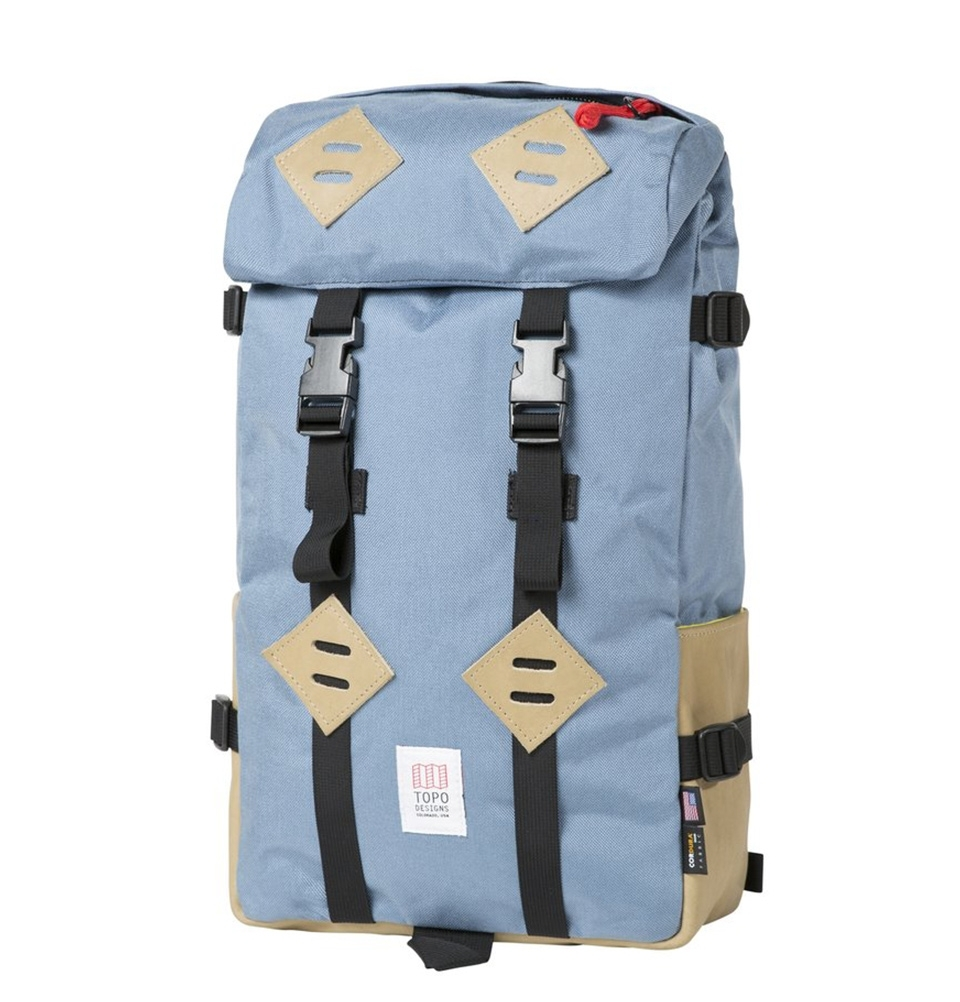 Topo Designs Klettersack Storm/Khaki Leather