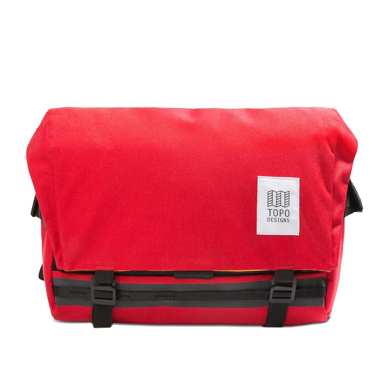 Topo Designs Messenger Bag Red