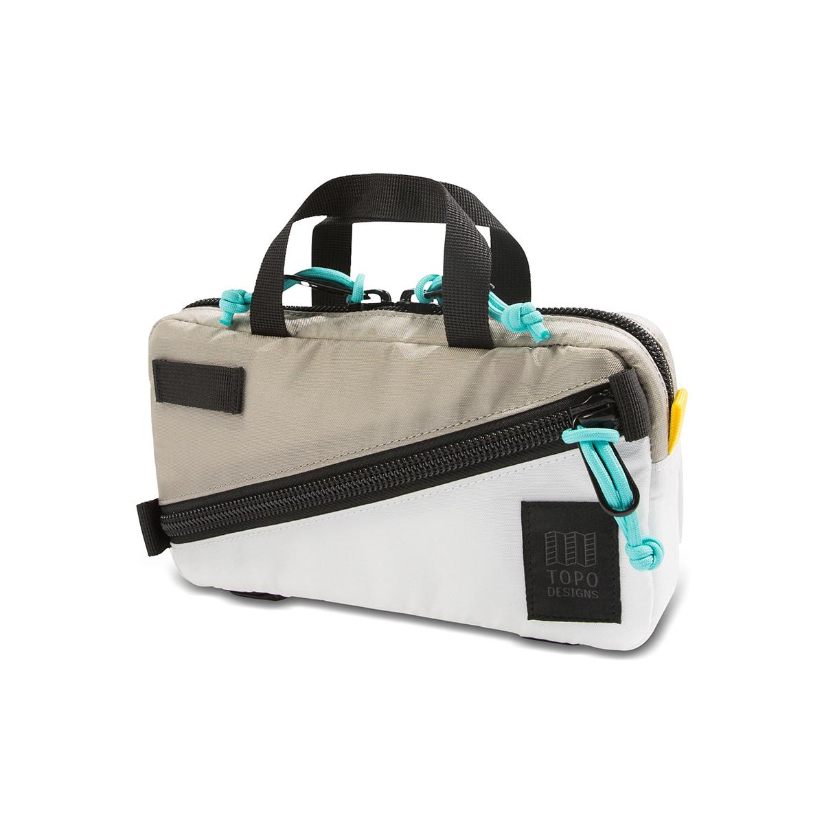 Topo Designs Mini Quick Pack Silver/White