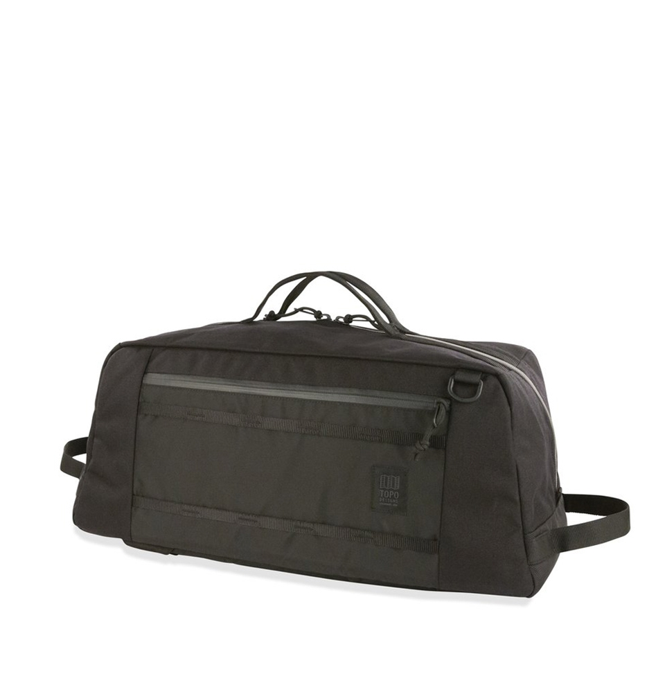 Topo Designs Mountain Duffel Zwart (40L)