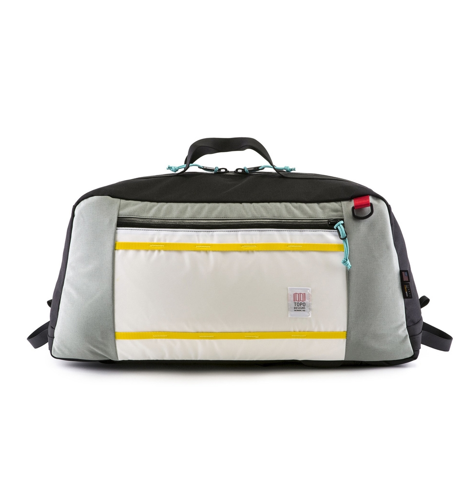 Topo Designs Mountain Duffel Zilver (60L)
