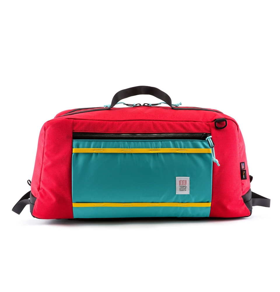 Topo Designs Mountain Duffel Rood (60L)