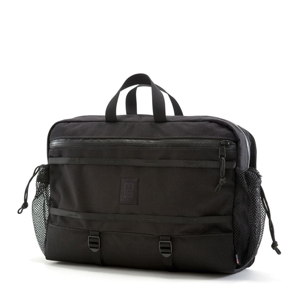 Topo Designs Mountain Messenger Black