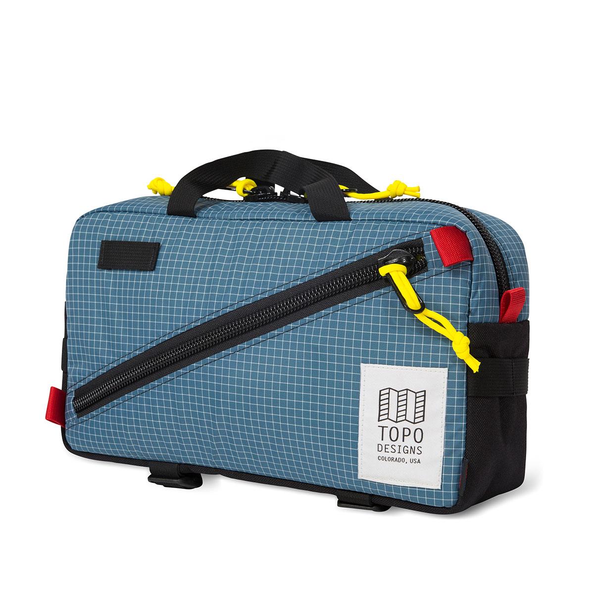 Topo Designs Quick Pack Blue/White Ripstop
