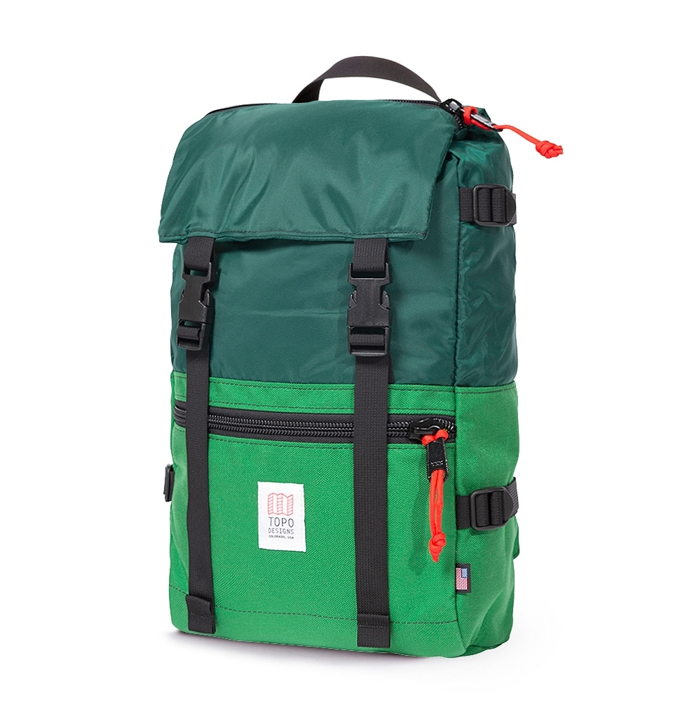 Topo Designs Rover Pack Forest/Kelly