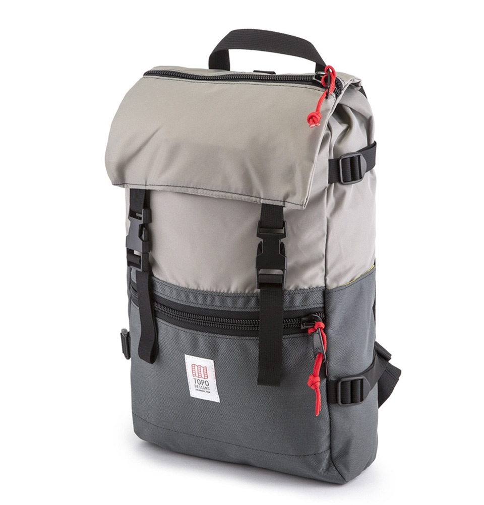 Topo Designs Rover Pack Silver/Charcoal